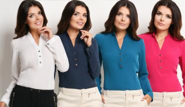 Bluza – najbolj ženstveno oblačilo vseh časov