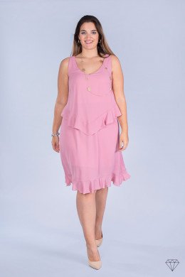 Poletna obleka Roza 1