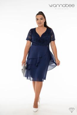 obleka Anna modra 1