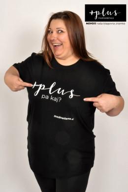 Bombažna majica Plus, pa kaj?