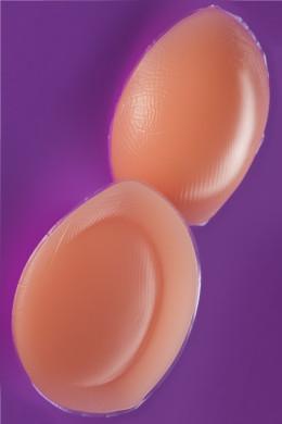 Udobni silikonski vložki za push-up videz, ki so enostavni za nošenje.