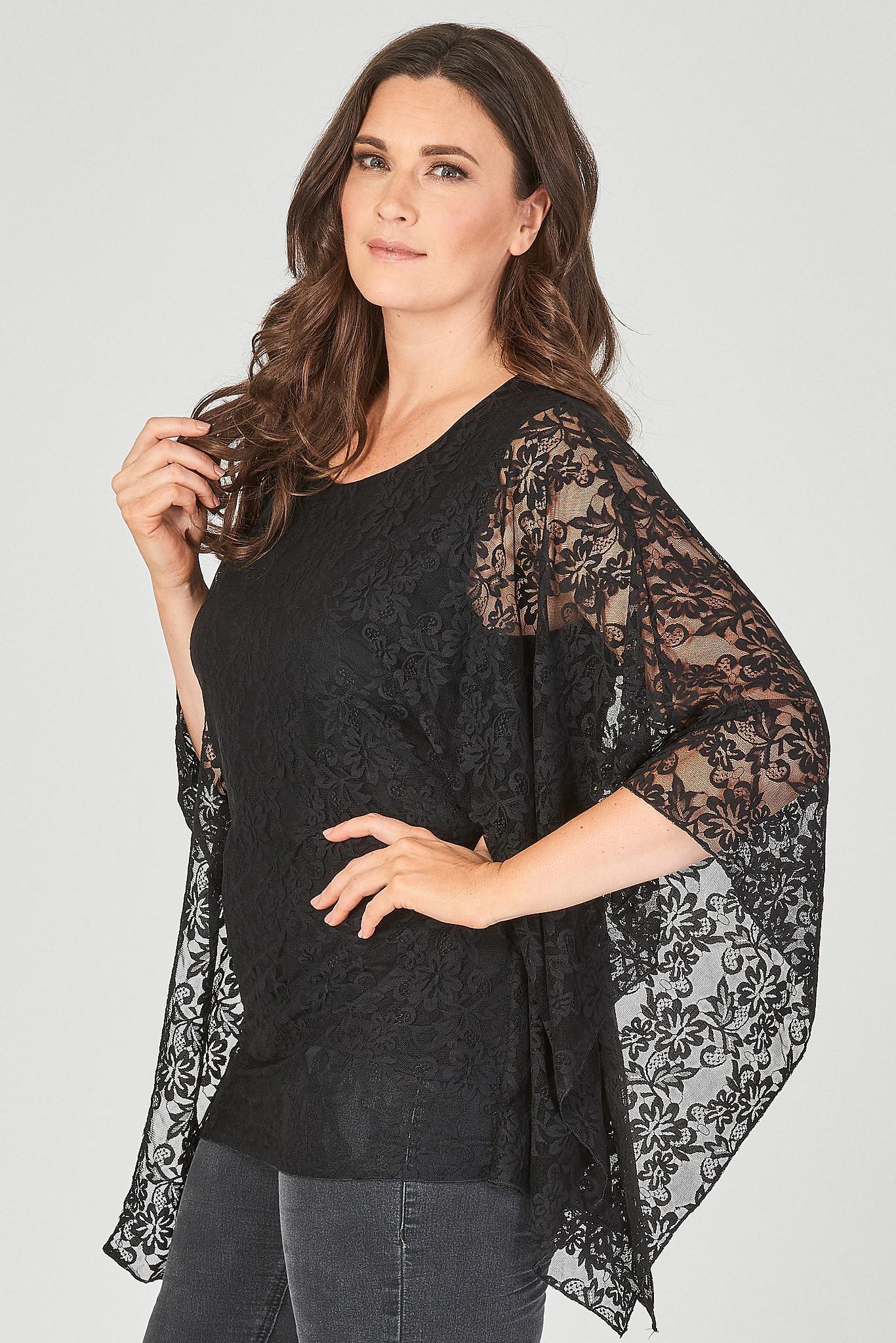 Tunika za močnejše ženske v večjih velikostih spletne trgovine Modna Dama.